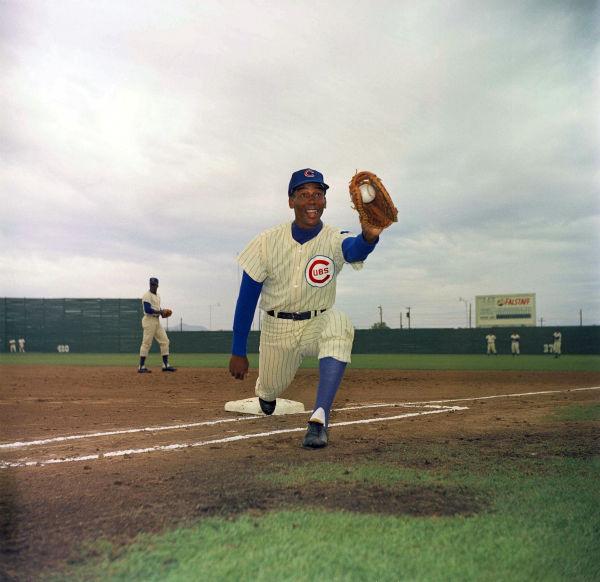 "<div class=""meta image-caption""><div class=""origin-logo origin-image none""><span>none</span></div><span class=""caption-text"">Chicago Cubs infielder Ernie Banks is pictured in 1967.  (AP Photo/Harold Filan) (AP Photo/ Harold Filan)</span></div>"