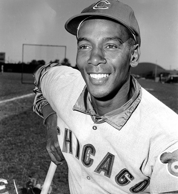 "<div class=""meta image-caption""><div class=""origin-logo origin-image ""><span></span></div><span class=""caption-text"">Hall of Fame slugger Ernie Banks, the two-time MVP who never lost his enthusiasm for baseball despite years of playing on losing Chicago Cubs teams, died Friday, Jan. 23, 2015. (AP Photo)</span></div>"