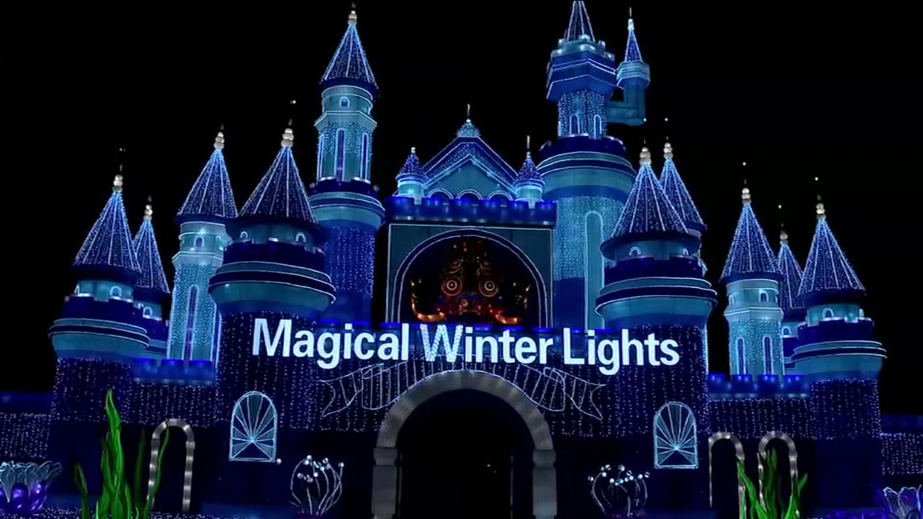 Great Christmas Light Fight films Magical Winter Lights in La Marque ...