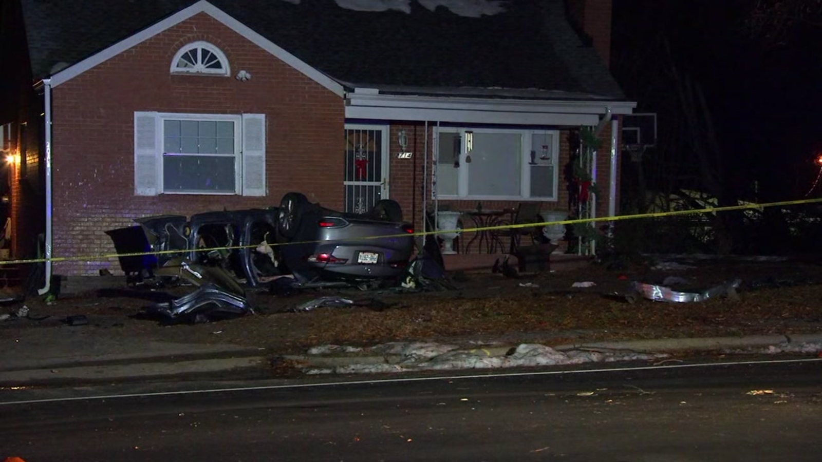 Acura Of Fayetteville >> Woman hurt after hitting tree, flipping car into yard of Durham home, police say - ABC11 Raleigh ...