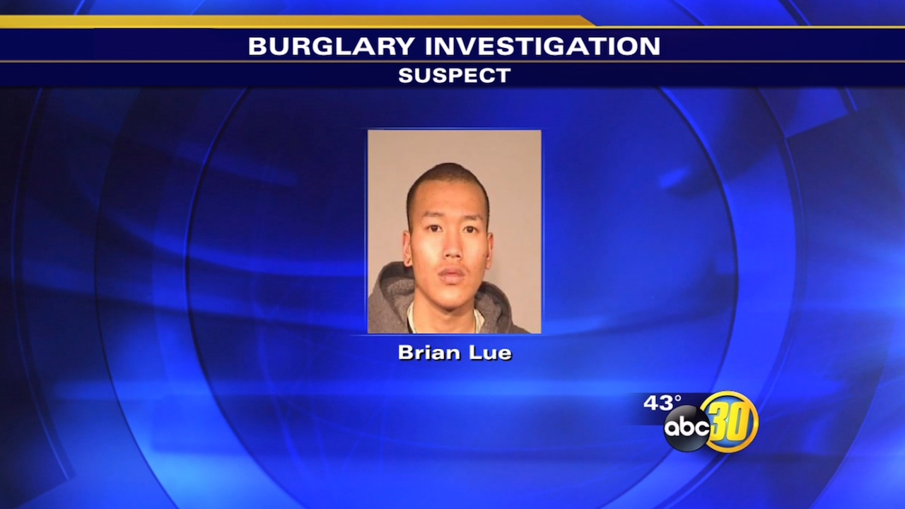 Fresno suspect caught behind burglarized cellphone store