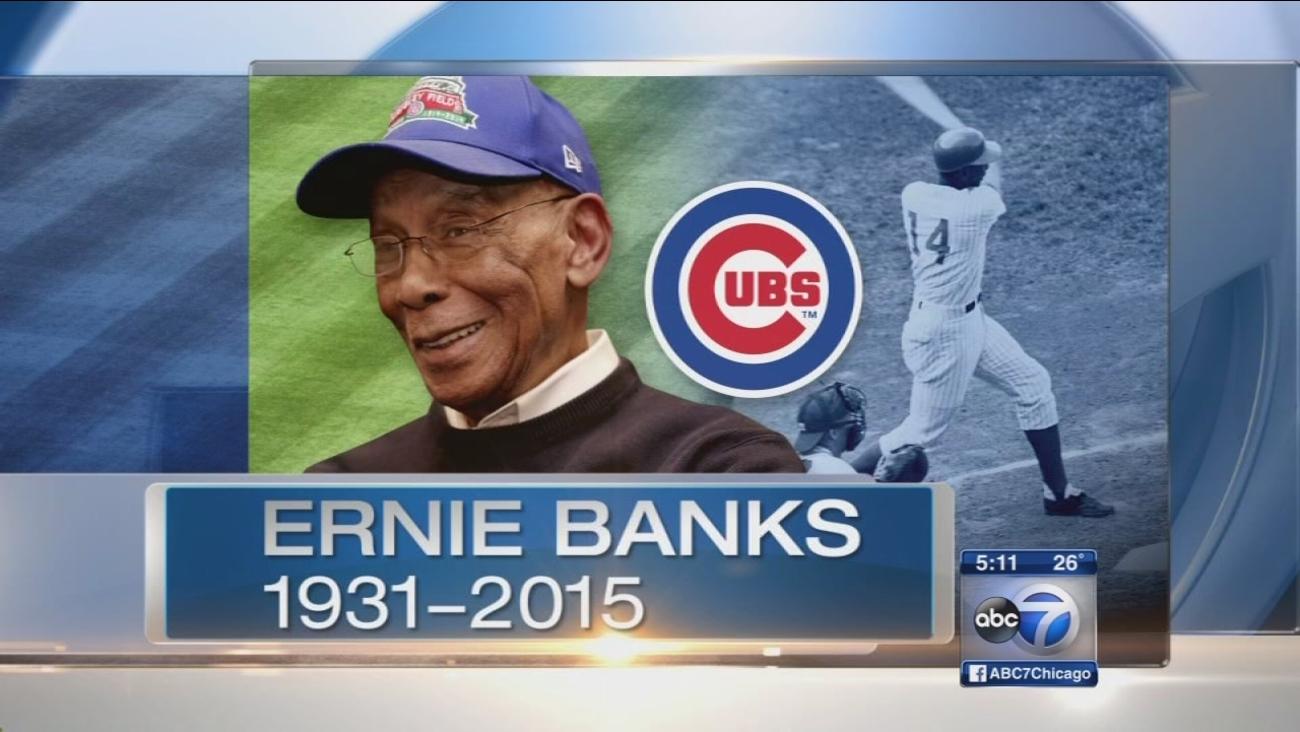 Public memorial planned to honor 'Mr. Cub,' Ernie Banks
