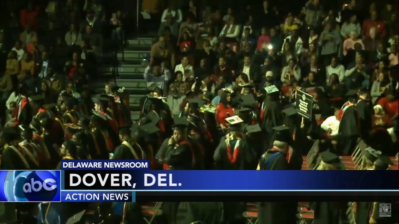 200 students graduate from Delaware State University