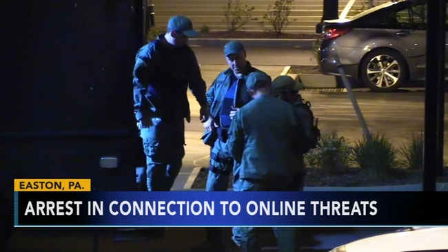 Man Charged In Online Threats To Lafayette College