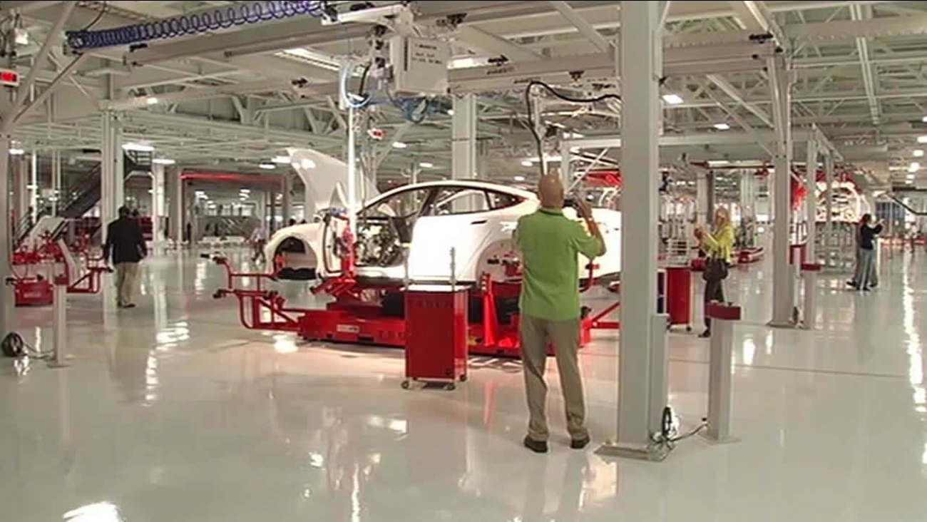 Tesla plans to expand Fremont's production plant | abc7news com