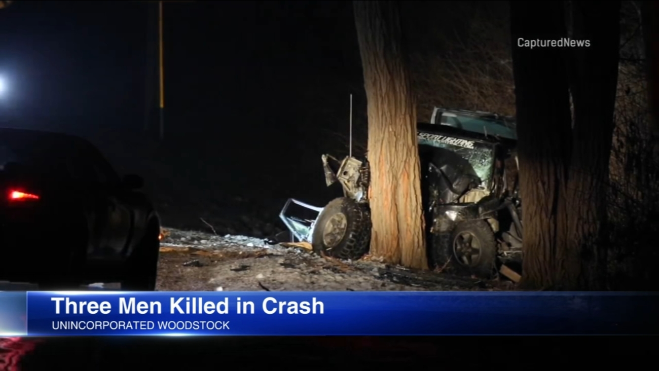 3 Killed In Crash In Unincorporated Woodstock Identified