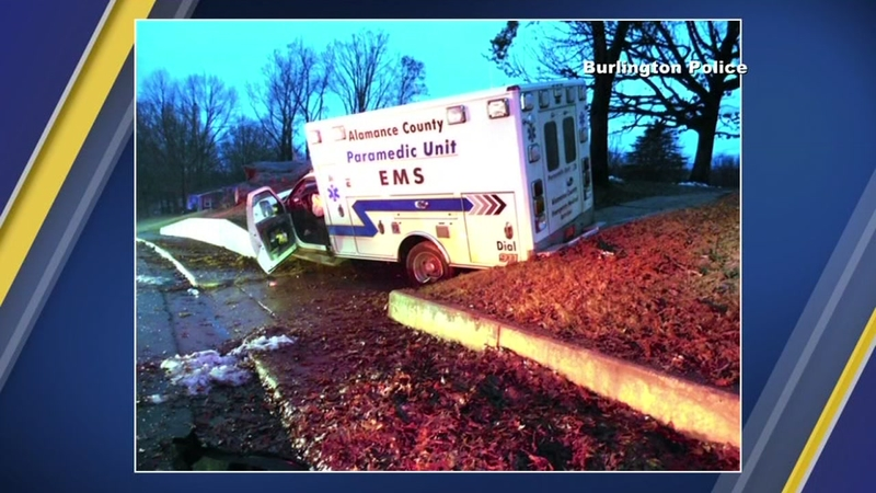 NC EMS provider hurt in ambulance crash after colleague