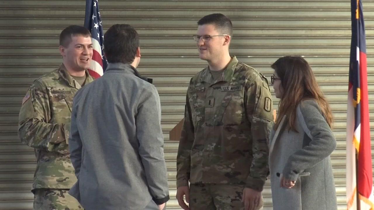 280 North Carolina National Guardsmen deploy to Afghanistan