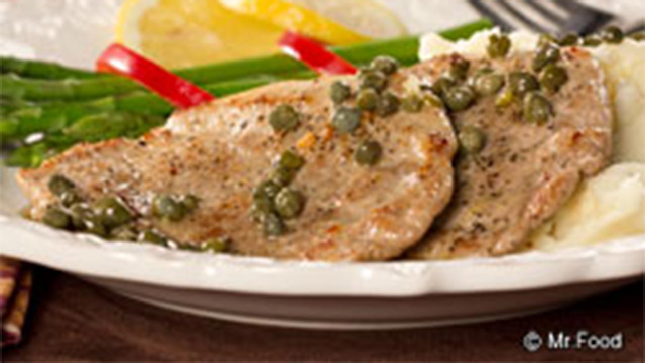 Pork Scaloppine recipe