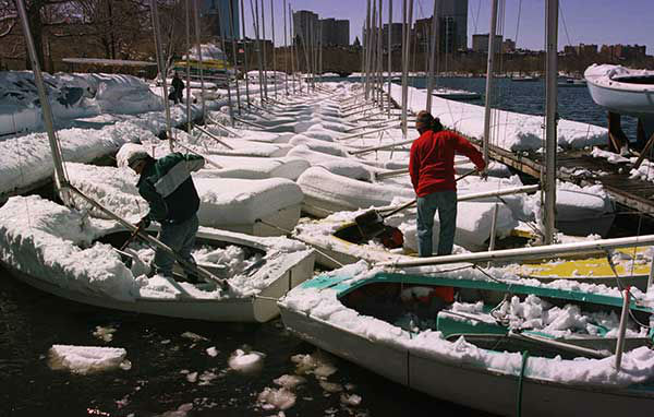 """<div class=""""meta image-caption""""><div class=""""origin-logo origin-image none""""><span>none</span></div><span class=""""caption-text"""">April 1997: A late blizzard buried Boston in 20 inches of snow. (Photo/C.J. GUNTHER)</span></div>"""