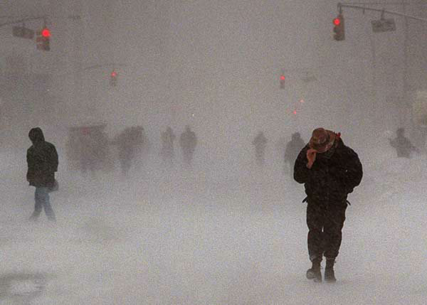 """<div class=""""meta image-caption""""><div class=""""origin-logo origin-image none""""><span>none</span></div><span class=""""caption-text"""">Jan. 1996: Pedestrain try to make their way down Seventh Avenue in New York City through the blizzard. (Photo/ANDERS KRUSBERG)</span></div>"""