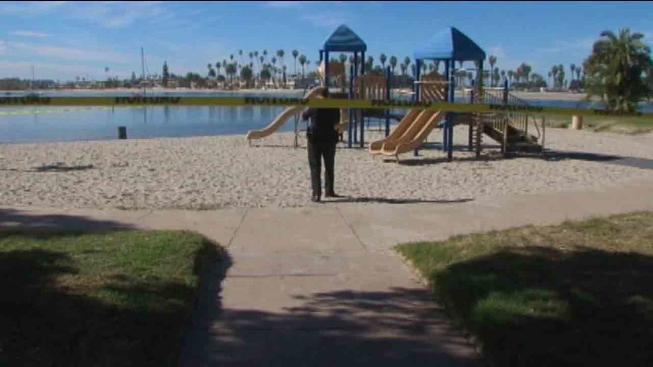 Razor blades have been found near a children's playground at Bonita Cove Park in Mission Beach at least six times over the last two years, according to San Diego police.