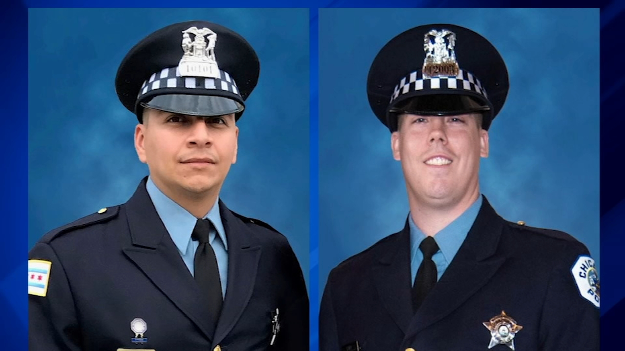 VIDEOS: 2 Chicago police officers fatally struck by South Shore Line train