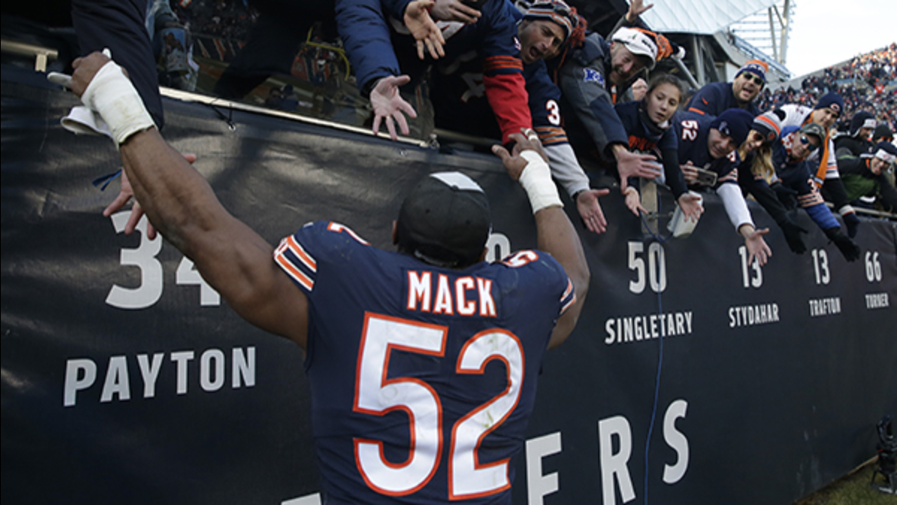 f0d7d47f1 5 Chicago Bears players named to AFC-NFC Pro Bowl 2019 roster ...
