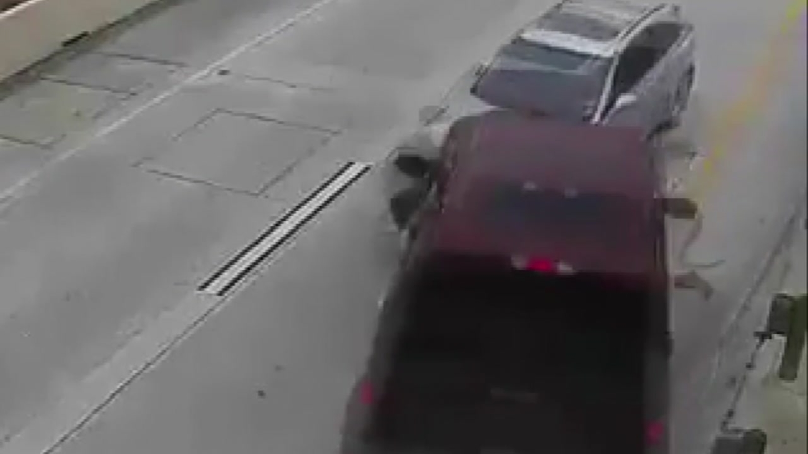 Deadly Crash On Grand Parkway Caught Video