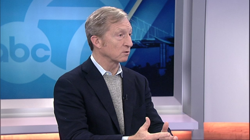 Bay Area billionaire Tom Steyer expected to announce if he will run for  president