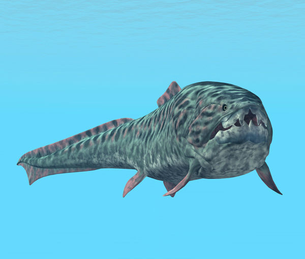 """<div class=""""meta image-caption""""><div class=""""origin-logo origin-image none""""><span>none</span></div><span class=""""caption-text"""">Dunkleosteus is a genus of prehistoric fish existing during the Late Devonian period, about 380–360 million years ago.</span></div>"""
