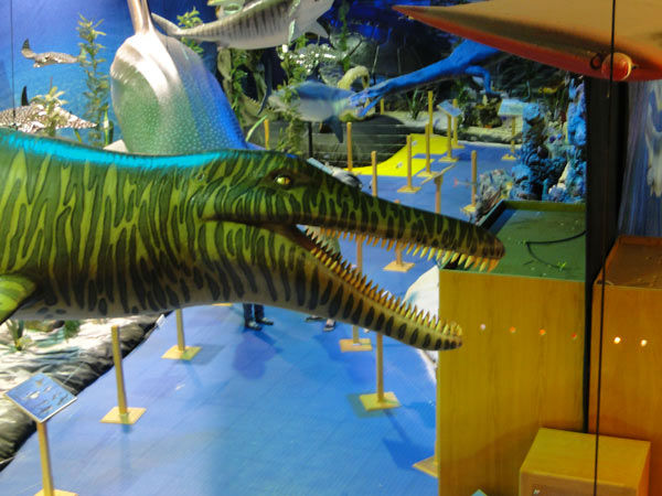 """<div class=""""meta image-caption""""><div class=""""origin-logo origin-image none""""><span>none</span></div><span class=""""caption-text"""">At Adventure Aquarium's Dinosaurs of the Deep exhibit, visitors can come face-to-face with more than 20 prehistoric marine reptiles.</span></div>"""