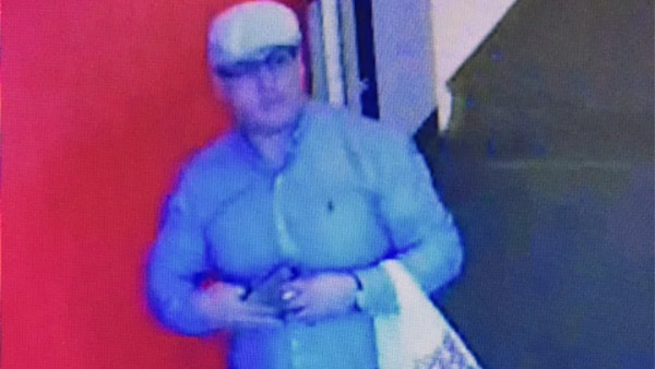 Authorities released surveillance images of a man suspected of wallet thefts throughout Los Angeles and Ventura counties.