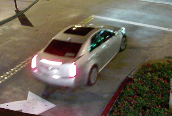 A man and a woman suspected of stealing from a Nordstrom Rack in Glendale left in a 2008-2012 silver Cadillac CTS car on Saturday, Jan. 17, 2015.