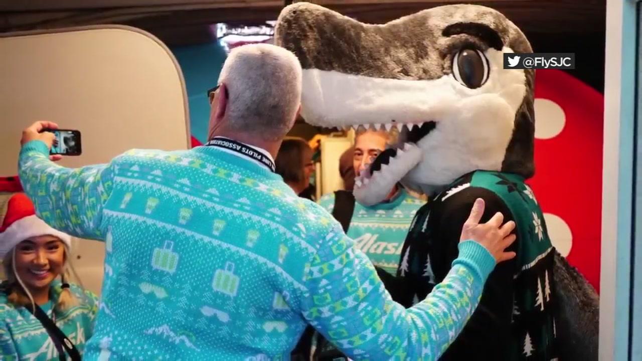 San Jose Sharks Lift Travelers Spirits At Mineta Airport With Free