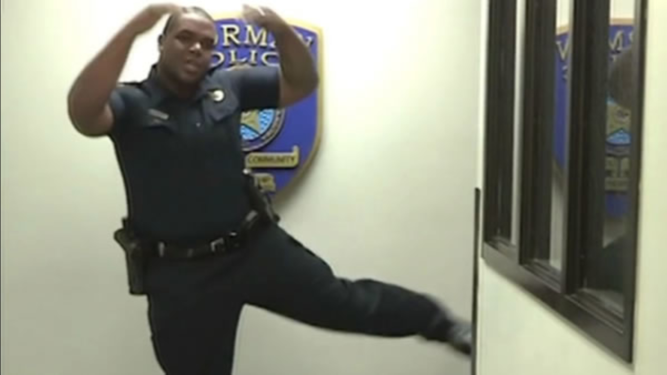 "A police department is using its own rendition of a song from ""Frozen"" in a hiring video."