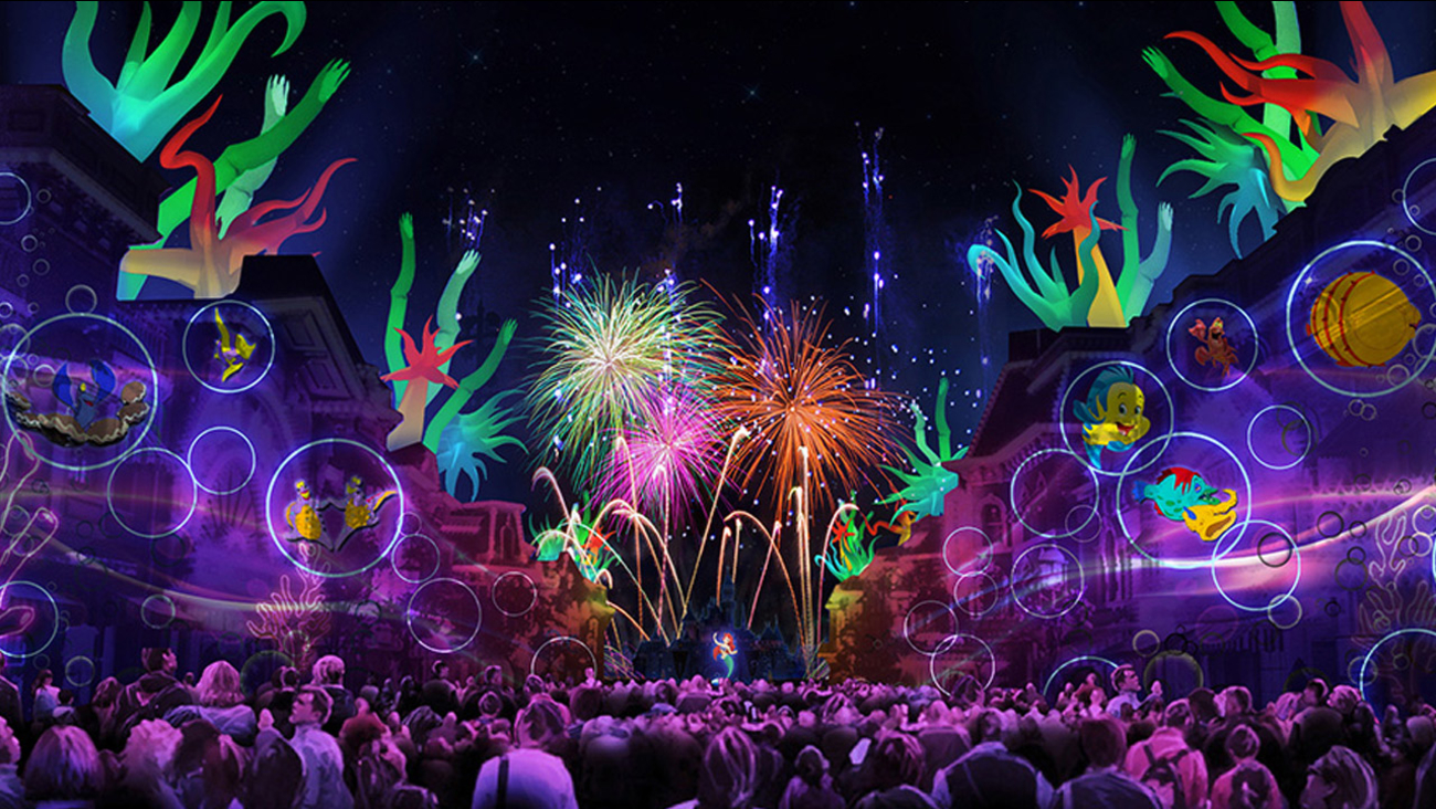 """A new fireworks show called """"Disneyland Forever"""" will debut on May 22, 2015 and feature pyrotechnics and image projections."""