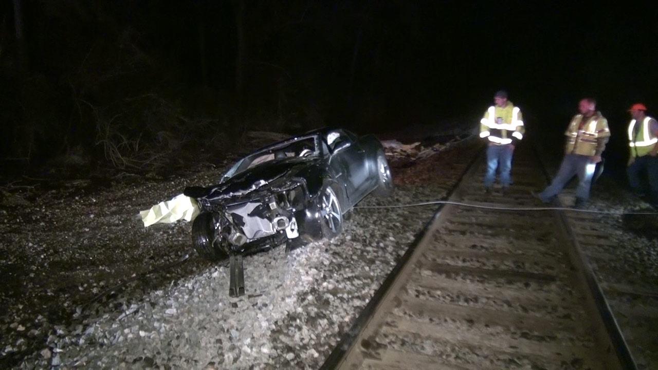 Damaged Camaro