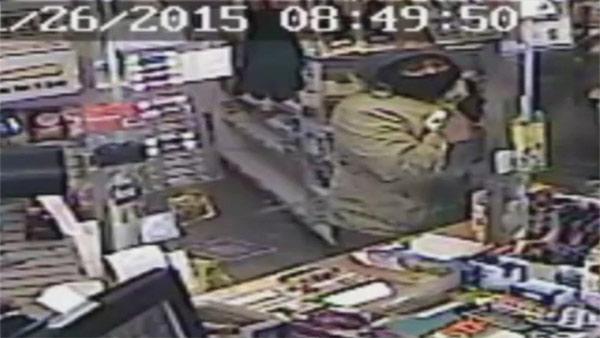 North Philadelphia Exxon Gas Station Robbery Surveillance Video