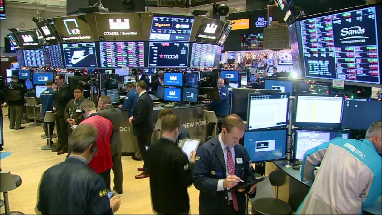 Dow Jones Industrial Average plunges more than 600 points on