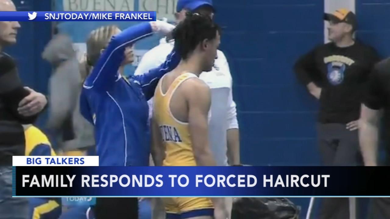 Parents Of New Jersey High School Wrestler Who Had To Cut Dreadlocks