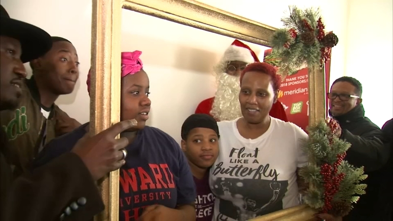 Christmas Gifts For Families.Young Men Surprise Needy Families With Christmas Gifts