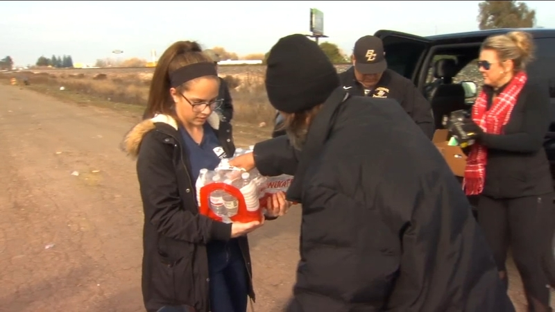 Merced teen hands out care packages in honor of homeless man killed in hit  and run