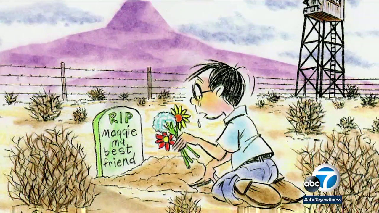 Maggie seemed to die of a broken heart at the end of the war as all her friends were leaving the internment camp.