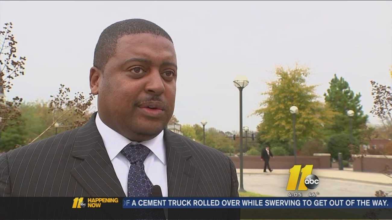 Fayetteville councilman charged with DWI - Mitch Colvin