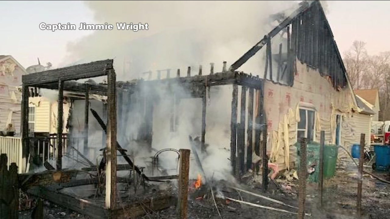 durham family loses home in christmas eve fire looters steal dogs