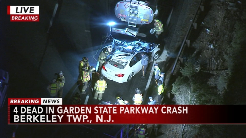 4 killed, including 2 brothers, in New Jersey car crash