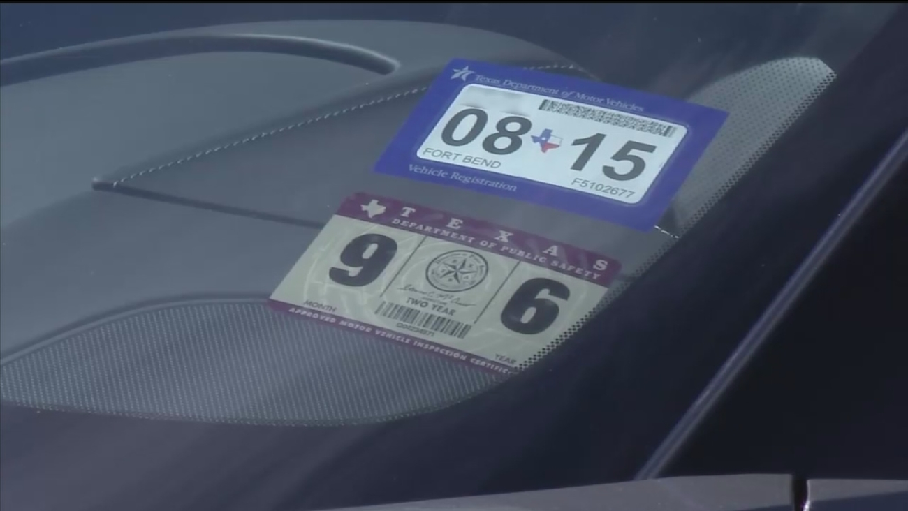 How new Texas car registration, sticker system works