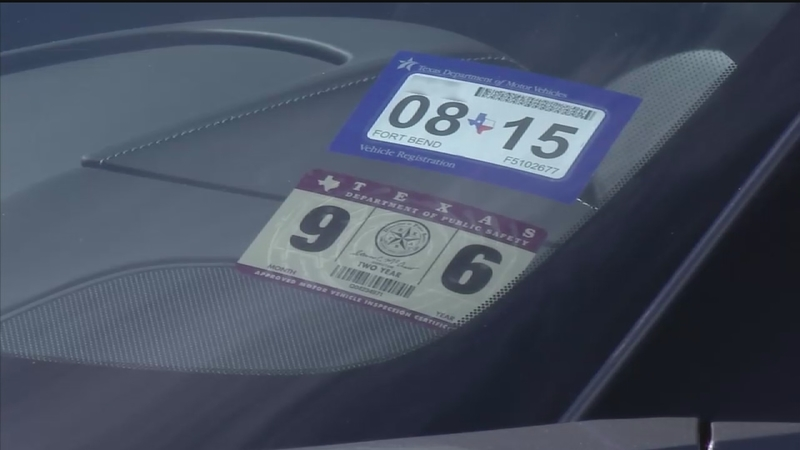 Expired Registration Texas >> How New Texas Car Registration Sticker System Works