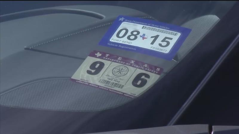 How New Texas Car Registration Sticker System Works Abc13 Com