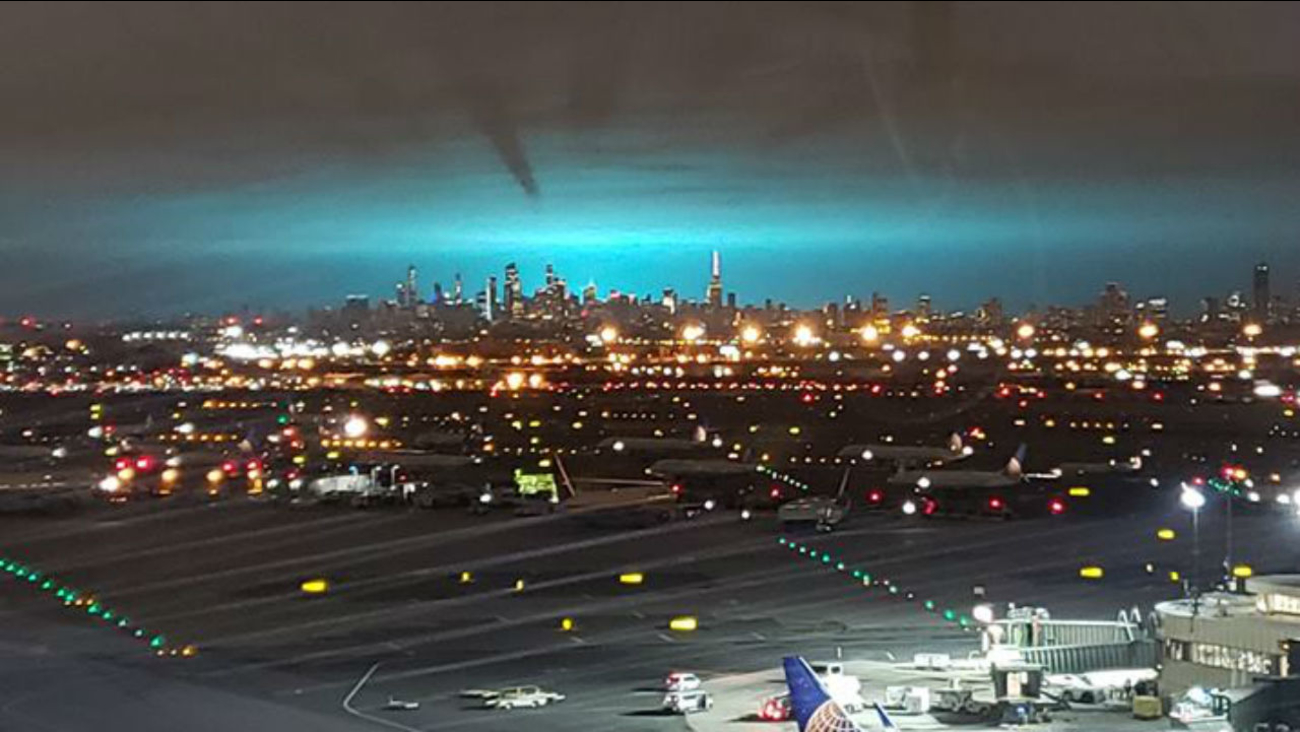 Con Edison Says Electrical Arc Turned Night Sky Blue In New York