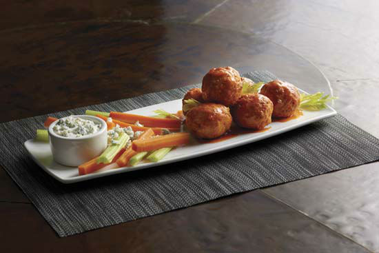 "<div class=""meta image-caption""><div class=""origin-logo origin-image none""><span>none</span></div><span class=""caption-text"">Morton's Grille: Specials on Super Bowl Sunday include the Buffalo Chicken Meatballs and Spicy Italian Flatbread (Landry's, Inc.)</span></div>"