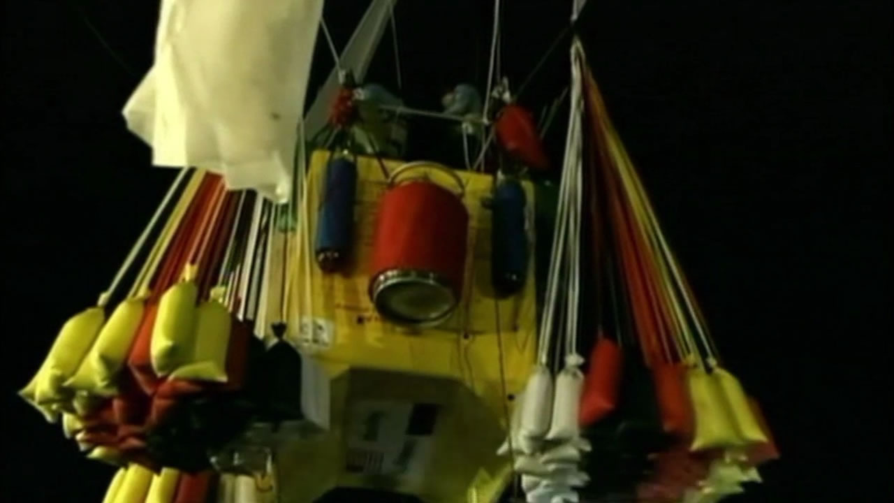 A wedding on a hot air balloon over San Diego turned into an emergency landing.