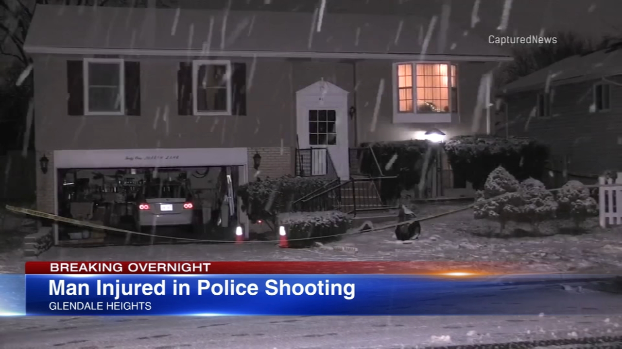 man shot by police in glendale heights charged given 250k bond