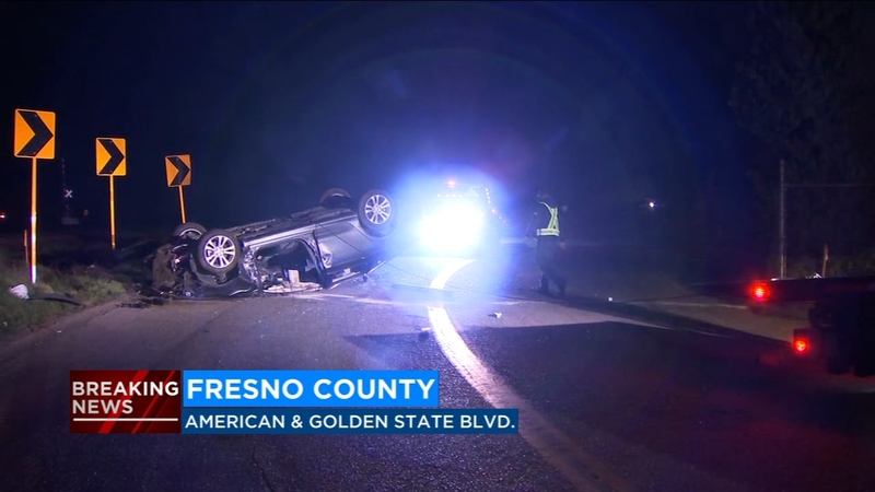 Woman killed, man injured in early morning crash in Fresno County