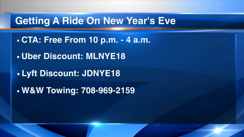 CTA offering free rides on New Year's Eve
