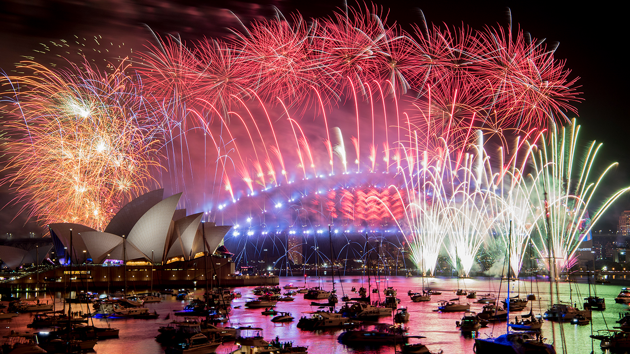<div class='meta'><div class='origin-logo' data-origin='AP'></div><span class='caption-text' data-credit='Brendan Esposito/AAP via AP'>Fireworks explode over the Sydney Harbour during New Year's Eve celebrations in Sydney, Tuesday, Jan. 1, 2019.</span></div>