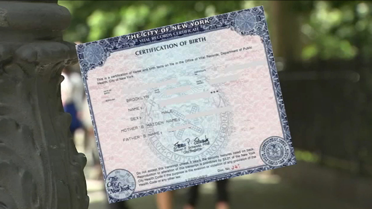 Gender Neutral Birth Certificates Law In Effect In New York City