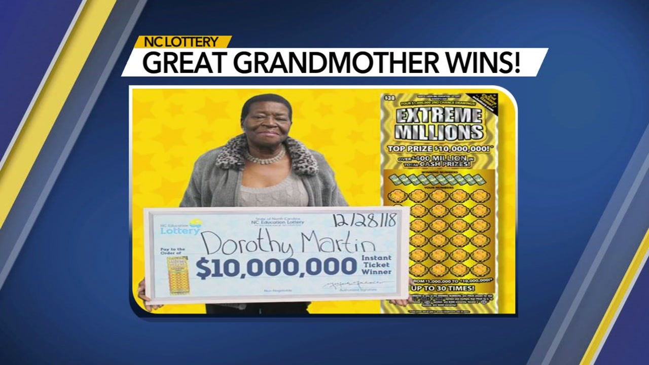 A miracle:' NC great-grandmother strikes it rich with $10M scratch