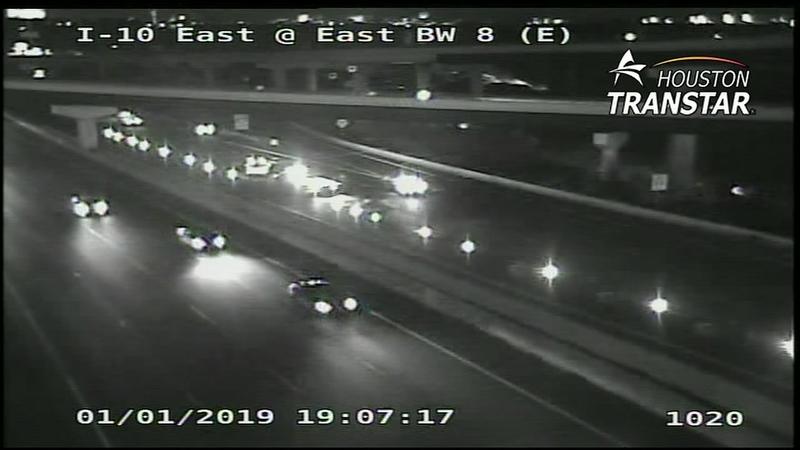 Pedestrian killed in crash on I-10 East Freeway